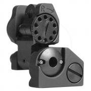 Rear folding Sight, Tritium-BLK