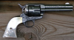 Colt peacemaker. guns that changed history