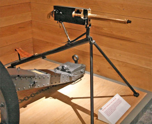 maxim gun, guns that changed history